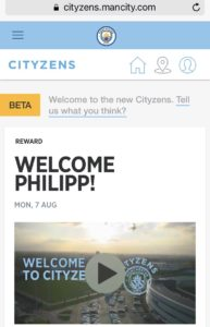 Screenshot Cityzens App