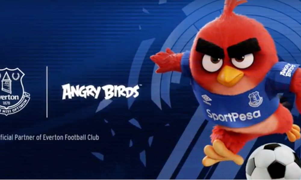 Everton Angry Birds
